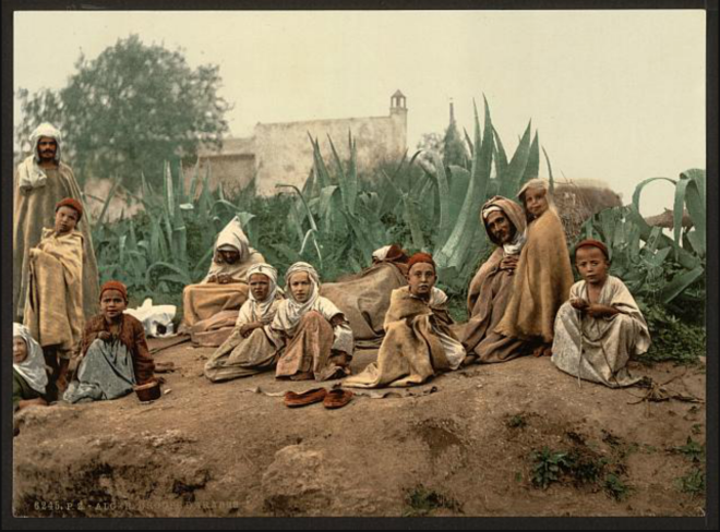 Group, Algiers, Algeria [ca. 1899]
