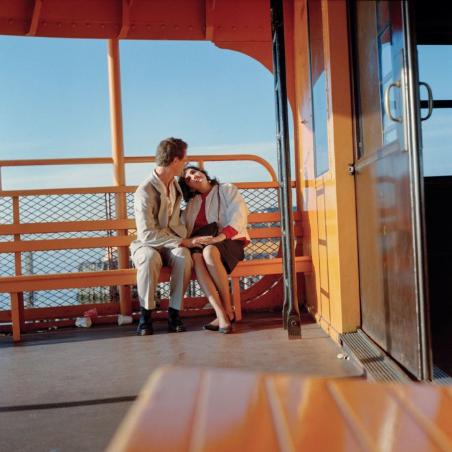6am on the Staten Island Ferry, 1985