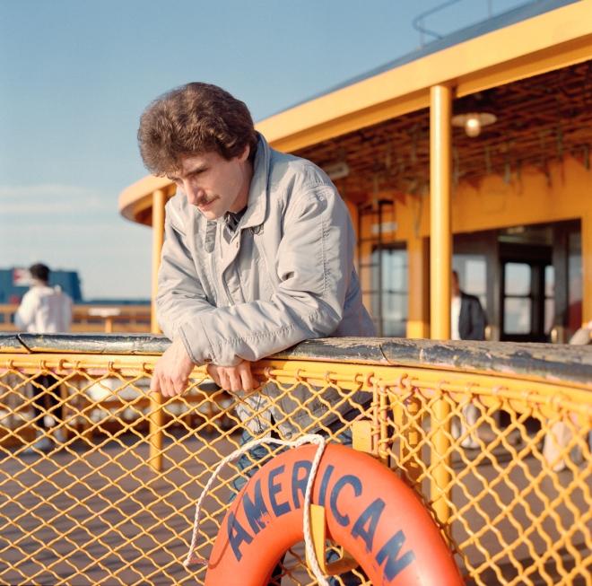 American, Staten Island Ferry, 1985