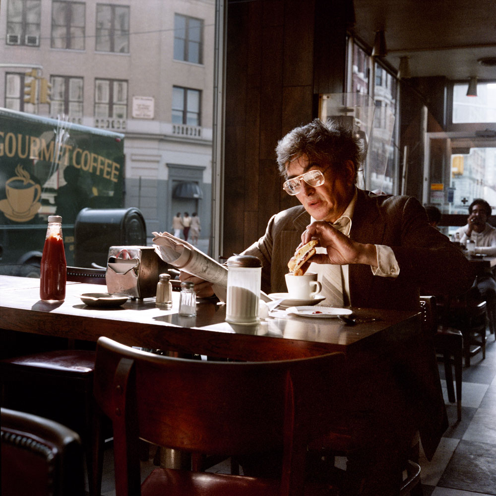 Coffee and a Sandwich, 1985