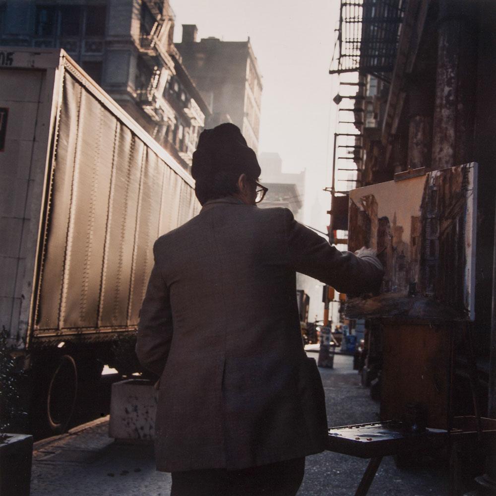 Painter, SoHo, 1984