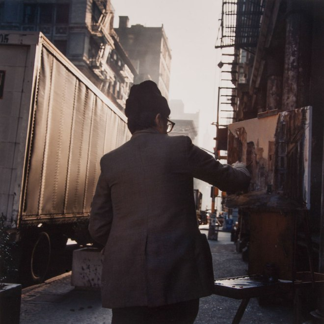 Painter, SoHo, 1984